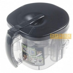 Compartiment sac aspirator SAMSUNG ASSY CASE CYCLONE SC9560 - - -PEARL BLK