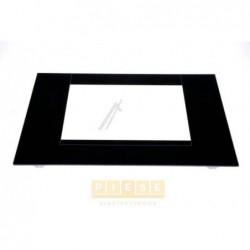 Geam exterior aragaz WHIRLPOOL/INDESIT C00093338 AUSSENSCHEIBE SCHWARZ - WINKEL