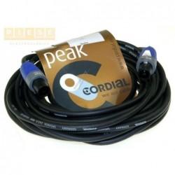 Cablu difuzor mufat CORDIAL/NEUTRIK LS-KABEL 2X25MM² SPEAKON 2POL NEUTRIK STECKER 10M