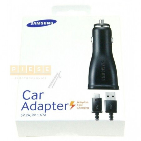 Incarcator auto GSM SAMSUNG INCARCATOR RAPID AUTO MICRO-USB 5-9V -CABLU USB