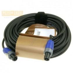 Cablu difuzor mufat CORDIAL/NEUTRIK LS-KABEL SPEAKON 2POL / SPEAKON 2POL NEUTRIK STECKER 20M