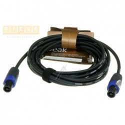 Cablu difuzor mufat CORDIAL/NEUTRIK LS-KABEL SPEAKON 4POL / SPEAKON 4POL NEUTRIK STECKER 5M